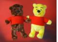 Mięciutkie zabawki pluszowe wykonane z myślą o dzieciach.