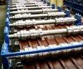 Linia technologiczna do produkcji blachy trapezowej