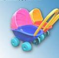 Wózek głęboki plast. pak. 10 5013