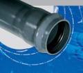Rury i kształtki ciśnieniowe do sieci wodociągowych z PVC-U