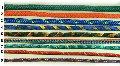 Liny poliestrowe, kolorowe, plecione