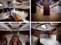 Zabudowa wnętrza jachtu Anila 27