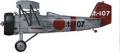 Model samolotu z żywicy