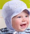 Czapeczki dla noworodków