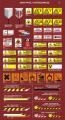 Znaki przeciwpożarowe i ostrzegawcze