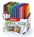 Pisaki artystyczne 100 COLORI Fibracolor