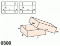 Pudło typu fefco 0300