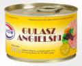 Z całą pewnością jedna z najlepszych konserw w Polsce. Zawartość selekcjonowanego mięsa wieprzowego 86% oraz tradycyjne przyprawy to podstawa sukcesu tej konserwy.