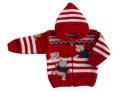 Sweterek z kapturkiem dziecięcy