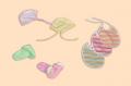 Śliniaki i czapeczki