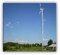 Przydomowa elektrownia wiatrowa. Certyfikat CE.