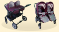 Wózki Dziecięce dla bliźniąt z kolekcji Wiki Duo.