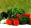 Świeże warzywa.