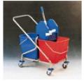 Wózek 2x17L (2x25L) z wyciskarką.