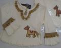 Bluzki dziecięce jednolite oraz w różne wzory.