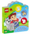 Książeczki dla malucha Lego® Duplo® Zakręcone zgadywanki