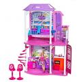 Lalki i meble dla lalek Barbie.