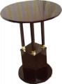 Stolik w stylu secesyjnym fornirowany mahoniem