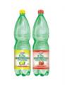 Woda smakowa gazowana butelka 1,5 l.