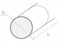Pręty okrągłe stalowe