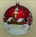 Bombki świąteczne dekoracyjne na choinkę i stół