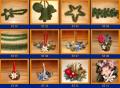Ozdoby świąteczne i stroiki różnego rodzaju