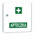 """Przemysłowa apteczka pierwszej pomocy w szafce metalowej """"VERA4"""""""