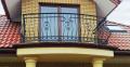 Balustrady balkonowe zewnętrzne