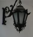 Lampy elewacyjne zewnętrzne kute