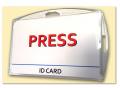 Holdery do kart i identyfikatorów - tabliczki informacyjne