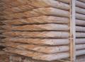 Pale drewniane toczone