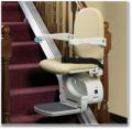 Krzesełka schodowe VIMEC typ ISCHIA o torze prostym