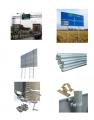 Konstrukcje wsporcze dla znaków drogowych