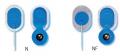 Elektrody do EKG Ambu Blue Sensor N oraz Ambu Blue Sensor NF do monitorowania dzieci, niemowląt i noworodków