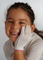 Rękawiczki jedwabne