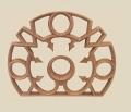 Ramka - okno mauretańskie