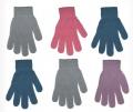 Rękawiczki uniwersalne dziewczęco/chłopięce 5-palczaste
