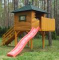 Drewniane domki dla dzieci P3