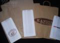 Torby papierowe dla produktów żywnościowych.