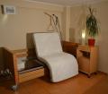 Łóżko rehabilitacyjne obrotowe