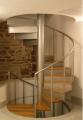 Stopnie schodów drewniane