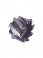 Frezy walcowo-czołowe do obróbki zgrubno-wykańczającej, trapezowy zarys, spirala 30°, otwór gładki z rowkiem, HSSCo8 RECORVIT