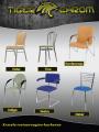 Chromowane stelaże krzeseł, krzesła chromowane