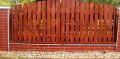 Ogrodzenia drewniane.