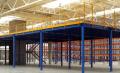 Съхранение платформи, мецанин склад