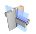 Systemy fasadowe aluminiowe.