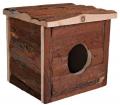 Domek drewniany dla królików