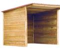 Szopa drewniana składana