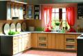 Meble kuchenne z drewna naturalnego