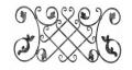 Kraty i ogrodzenia metalowe